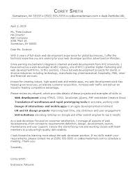 Salary In Cover Letter Cover Letter Requirements Web Developer Cover