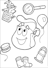 Small Picture Dora the Explorer Coloring Pages 11 Coloring Kids