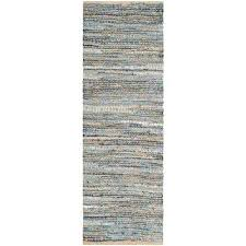 cape cod natural blue 2 ft x runner rug 14 foot n