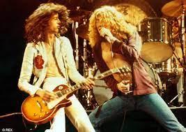 Led Zeppelin hoje no palco da 2 | b side