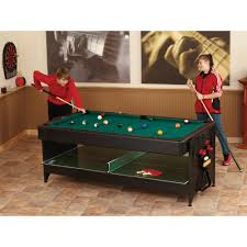 Fat Cat Original Pockey 3-In-1 Game Table \u2014 Pool/Billiard, Air