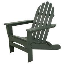 Green plastic patio chairs Simple Plastic Classics Green Plastic Patio Adirondack Chair The Home Depot Ivy Terrace Classics Green Plastic Patio Adirondack Chairivad5030gr
