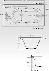 whirlpool bathtub sizes ideas
