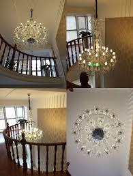 Us 11954 14 Offhohe Decke Kronleuchter Kristallkugel Kronleuchter Moderne Treppe Kronleuchter Tropfen Treppenhaus Kronleuchter Kristall Anhänger