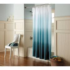 ombre shower curtain teal threshold