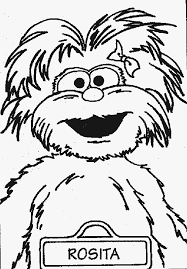 Small Picture Printable Sesame Street Coloring Page Sesame Street Coloring Page