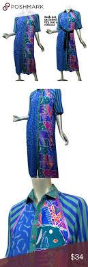 Maggie Shepherd Australian Designer Maggie Shepherd Australia Shift Dress Art To Wear Vintage
