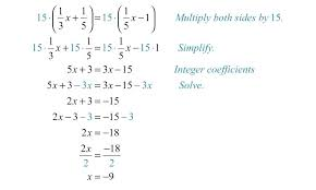 kuta math fractions kindergarten elementary algebra infinite algebra 1 solving rational equations with kuta math