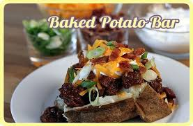 baked potato bar display. Interesting Display Pleasant View Christian Church  And Baked Potato Bar Display S