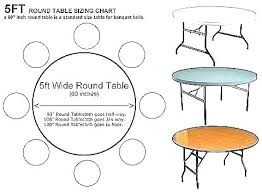 4 foot round table inch round table what size tablecloth for a outstanding 5 foot lifetime