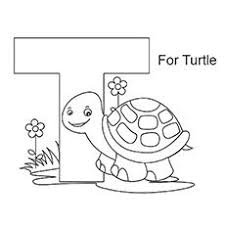 Small Picture Letter T Coloring Pages Free Printables Coloring Letters and