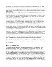 agile supply chain zara case study customer behaviour 2 has