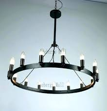 iron round chandelier light chandeliers whole ir