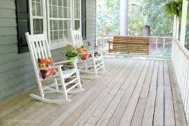attractive front porch rocking chairs ideas agreeable front porch decoration using white wood front porch