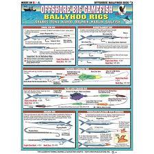 Rigging Chart Bait Rigging Chart Ballyhoo Rigs Card Tl Br3 8 99