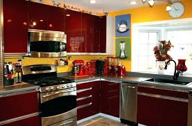 yellow country kitchens. Black And Red Kitchen Ideas Country Kitchens Yellow