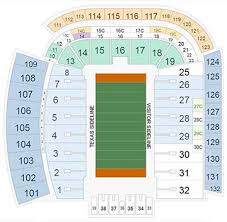 Texas Dkr Memorial Stadium Seating Chart Texas Longhorns Football 2019 Tickets Ticketcity