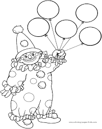 Small Picture Clown Coloring Pages clown coloring pages to print Kids Coloring