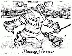 Small Picture Coloring Pages Hockey Coloring Sheets Pages Hockey Coloring