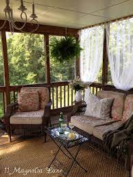easy screened porch update sheer