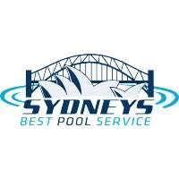 pool service logo. Sydneys Best Pool Service Logo