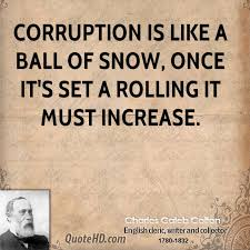 Charles Caleb Colton Quotes QuoteHD Adorable Corruption Quotes