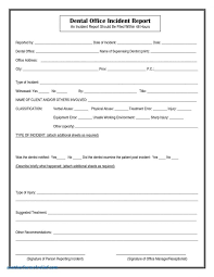 Incident Report Word Template Image Form Docmicrosoft Doc
