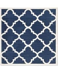 square indoor outdoor rug safavieh amherst geo 7 x 7 square indooroutdoor rug in navy navy