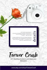Wedding Enclosure Card Template Fall Wedding Enclosure Card Navy Wedding Enclosure Card Printable