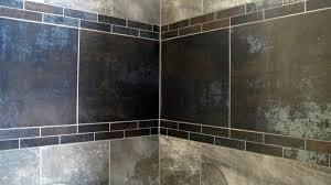 metallic shower decorative porcelain tile large custom home with and natural stone blue lake lodge wall