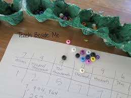 How To Create A Place Value Chart Place Value Snake Teach Beside Me