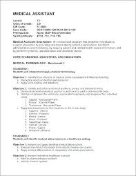 Medical Assistant Resume Objective Examples Mesmerizing Objective For A Medical Assistant Resume Sample Medical Assistant