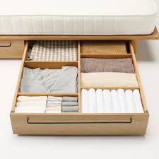 Diy Under Rolling Storage Drawers Tutorial bed Underbed Storage Drawers  Concept