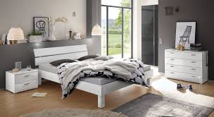 Komplett Schlafzimmer In Weiß Hochglanz Norman Bettende