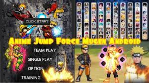 BVN Anime Mugen Jump Force - Bleach Vs Naruto 3.3 Android [DOWNLOAD] in  2021 | Naruto games, Android game apps, Naruto