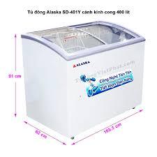 Tủ đông Alaska SD-401Y mặt kính cong 400 lít - Giá rẻ nhất T11/2020