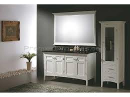 White Floor Bathroom Cabinet Small Bathroom Cabinet How To Spray Paint Makeover Learn How To