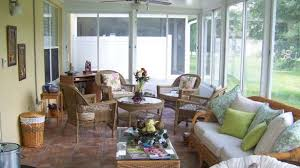 Sunroom Or Florida Room Using Glass To Add A With Pertaining  Furniture Prepare  Florida Room Furniture Y94