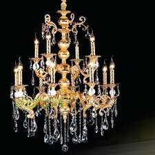 maria theresa chandelier large amber