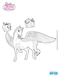 Pegasus Coloring Page Free Coloring Pages