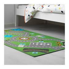 ikea floor mat car track storabo 75x133cm kids rugs