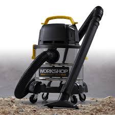 workshop wet dry vac. Interesting Workshop 4 Gallon 25 Peak HP Stainless Steel Portable WetDry Vac On Workshop Wet Dry