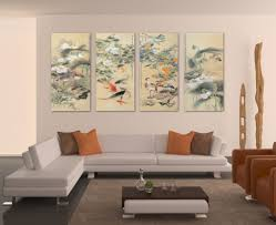 Ritzy Living Room Koi Fishart Piece Canvas Large Wall Cheap Large Wall S  Lots Also Canvas