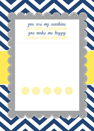 Free Printable Photo Birth Announcements Templates Baby