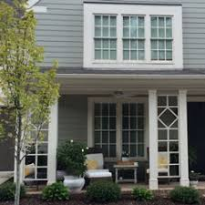 Charming Front Porch Columns With Lattice Design