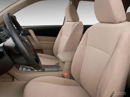 2009 toyota highlander front seat