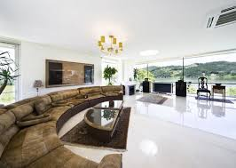 modern mansion living room. Modern Mansion Living Room With TV R