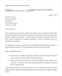 Administrative Professional Cover Letter Cover Letter Example 6