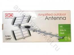 <b>Антенна</b> ДМВ активная <b>Godigital AV</b> 9360 купить в Санкт ...