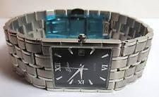 belair watch new mens belair black dial 956 114 watch wristwatch ss